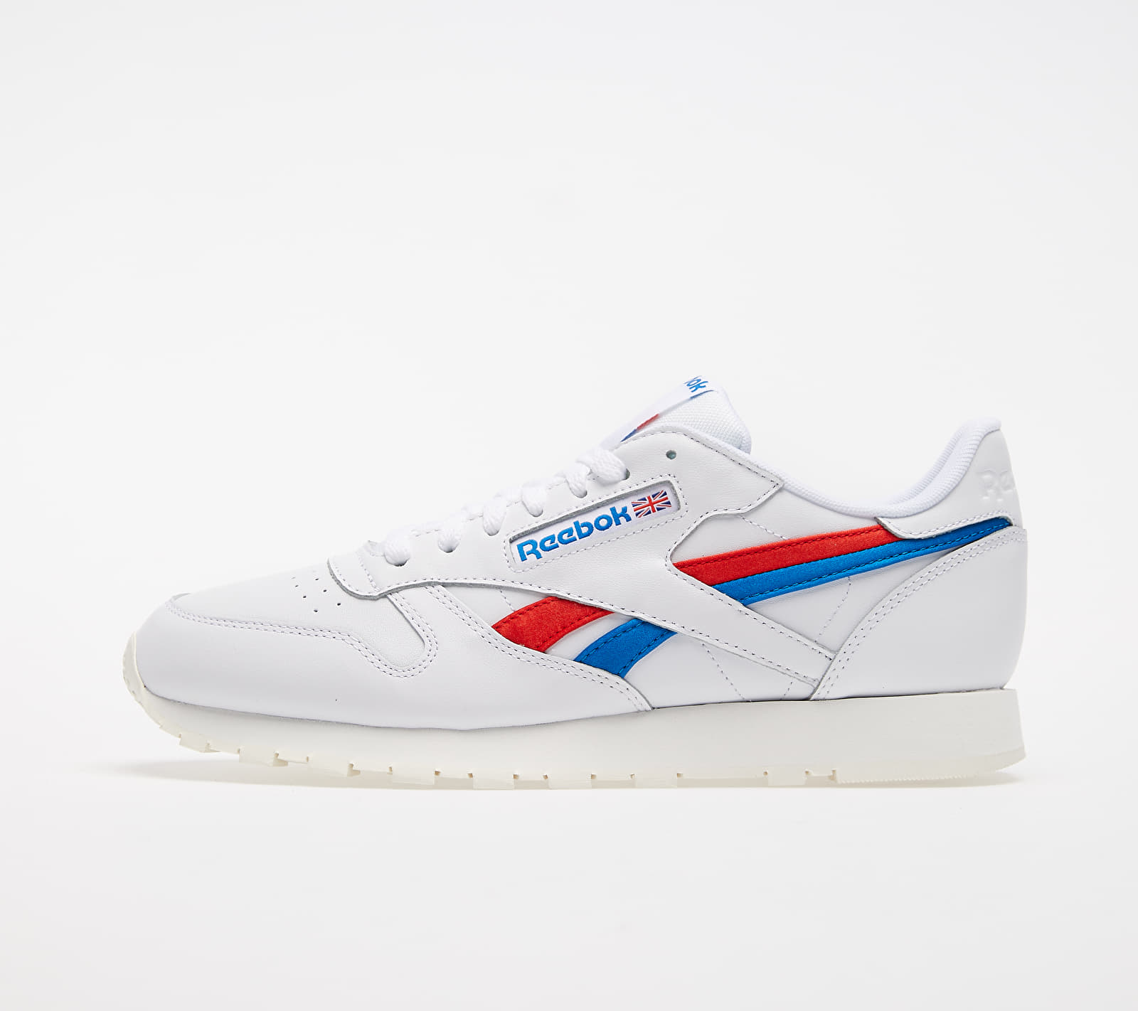 Reebok Classic Leather White/ Instinct Red/ Dynamic Blue EUR 45