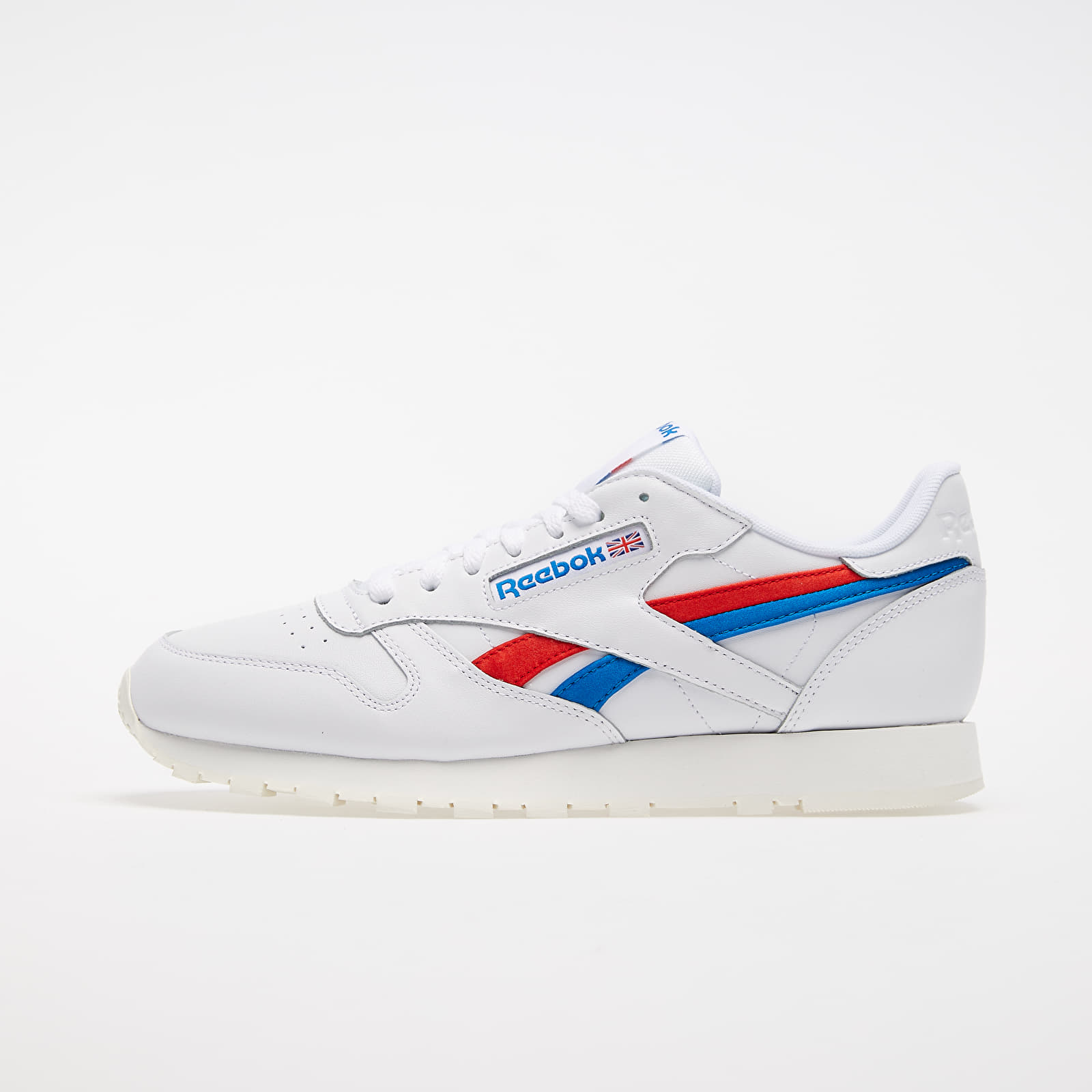 Men's shoes Reebok Classic Leather White/ Instinct Red/ Dynamic Blue