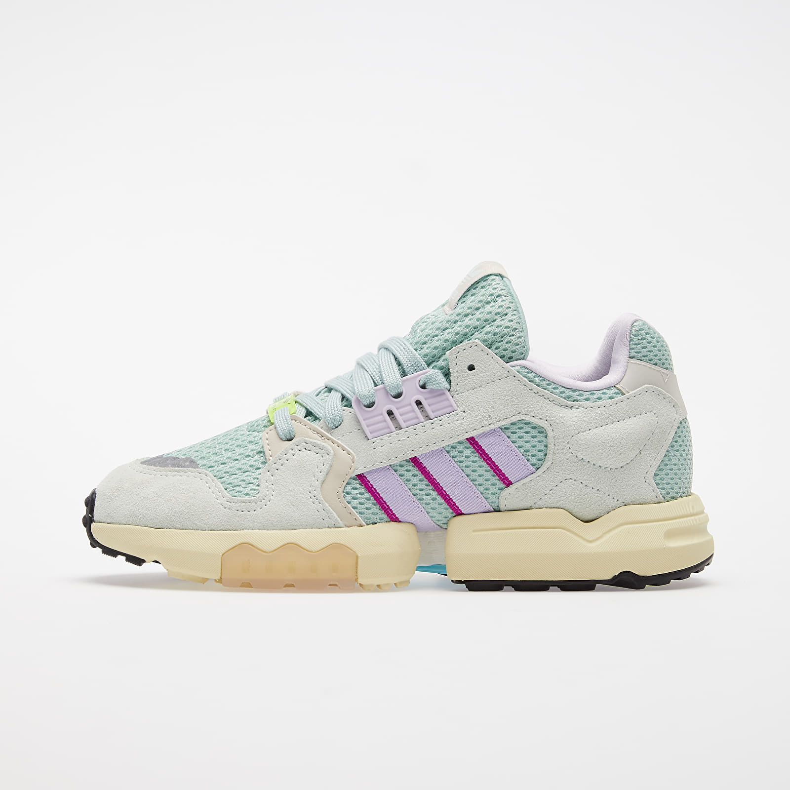 Chaussures et baskets femme adidas ZX Torsion W Green Tint/ Dash Green/ Purple Tint