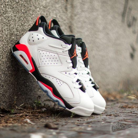 quality design 01182 e363e Air Jordan 6 Retro Low White/ Infrared 23-Black | Footshop