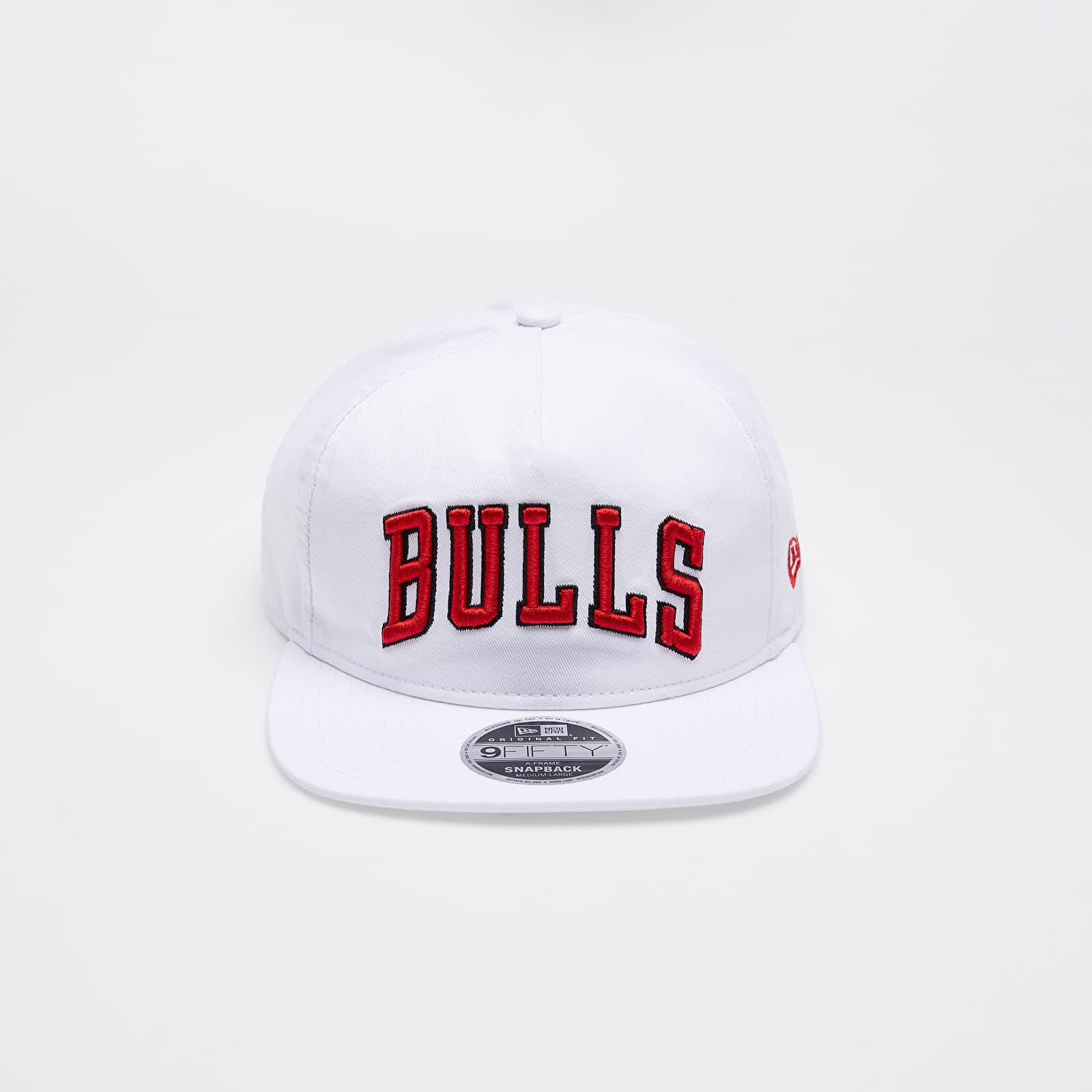 Kšiltovky New Era NBA 9Fifty Chicago Bulls A-Frame Cap White
