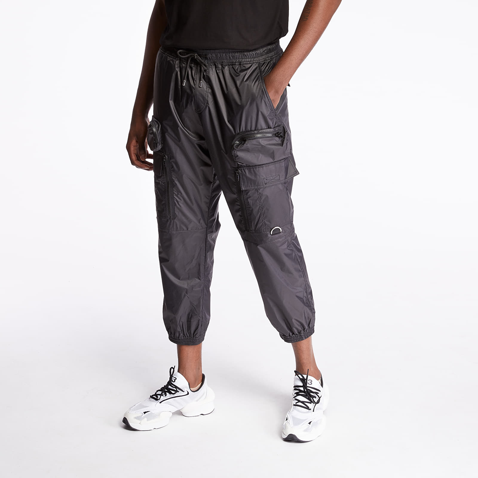 Pants and jeans STAMPD Helix Cargo Pants Black