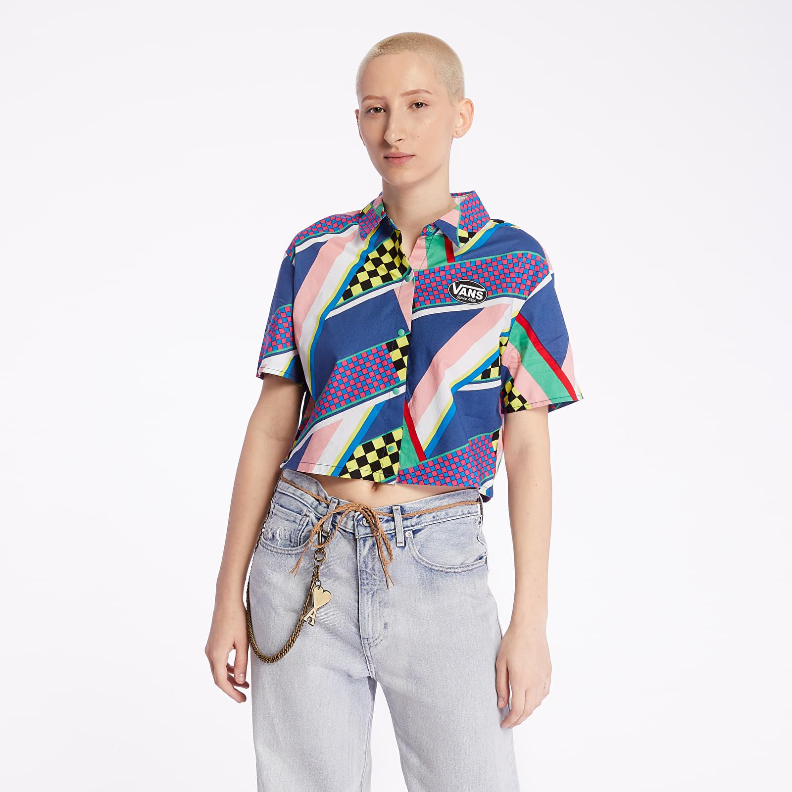 Košile s krátkým rukávem Vans Ramp Tested Top Multi