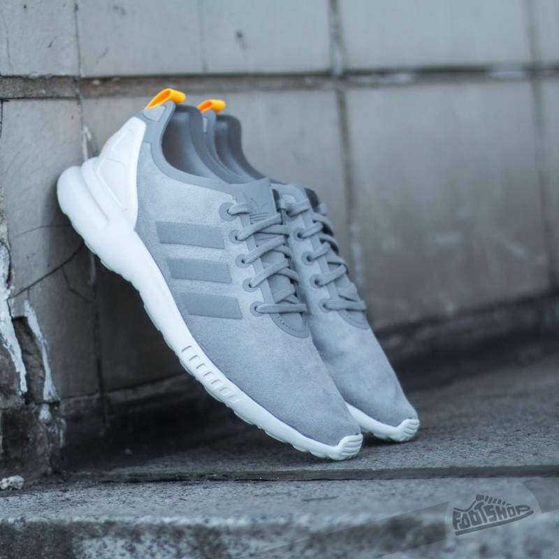 reputable site 74f94 765d8 adidas ZX Flux Smooth W Mgh Solid Grey