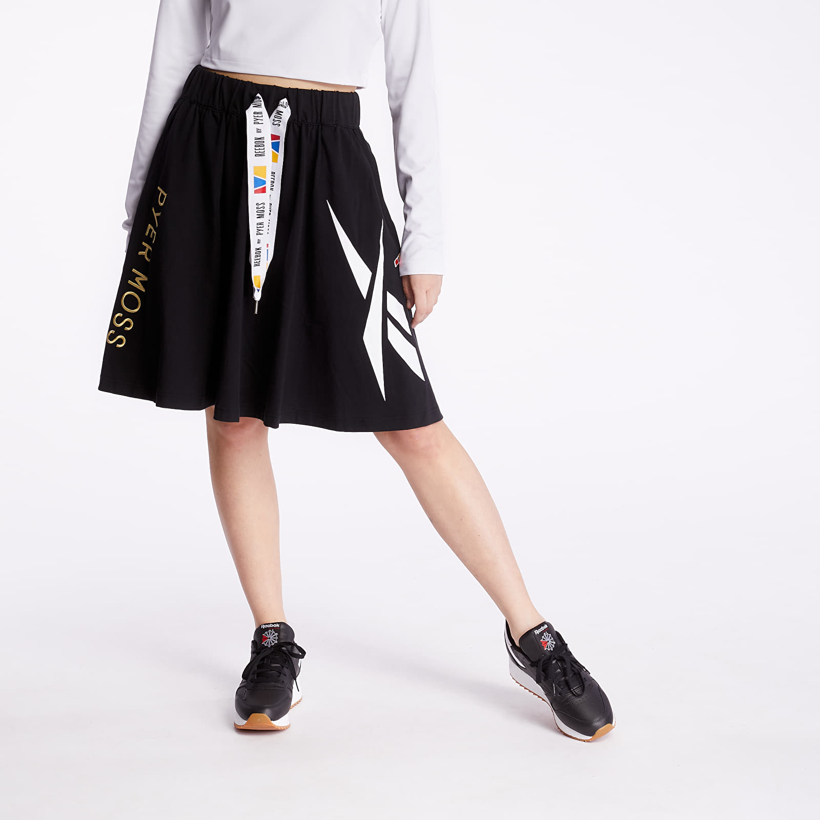 Fuste Reebok x Pyer Moss Long Skirt Black