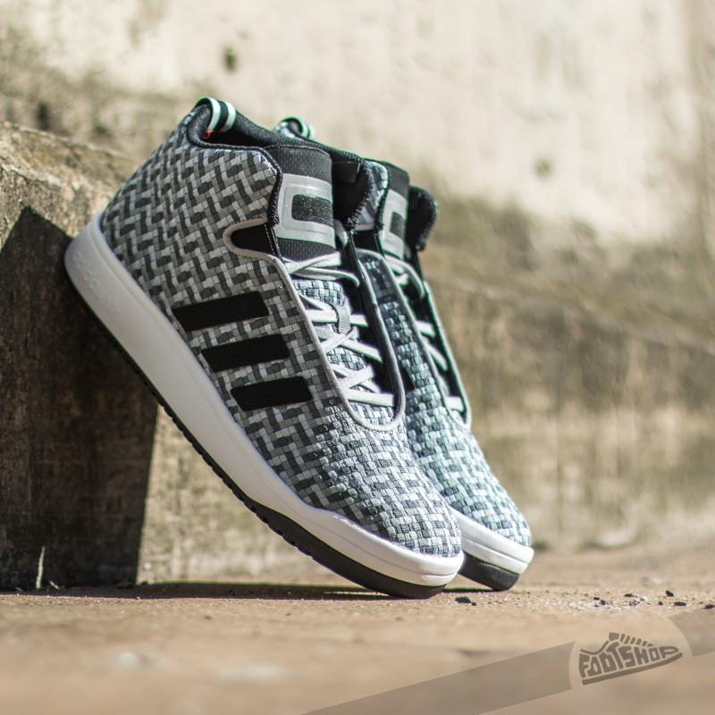 adidas Veritas Mid Weave Light OnixCore BlackWhite | Footshop