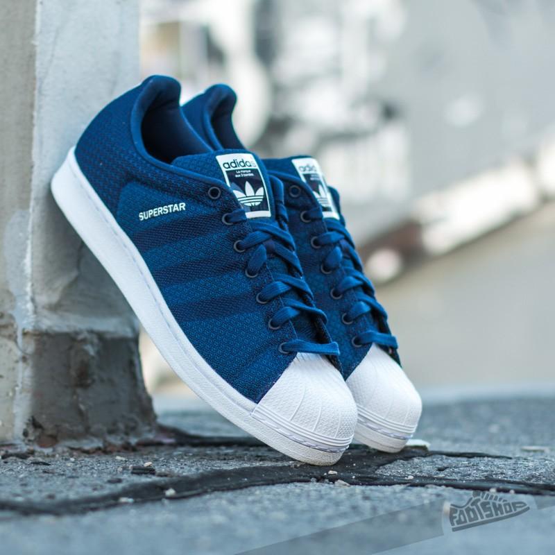2118665620f0 adidas Superstar Weave Pack Dark Blue White