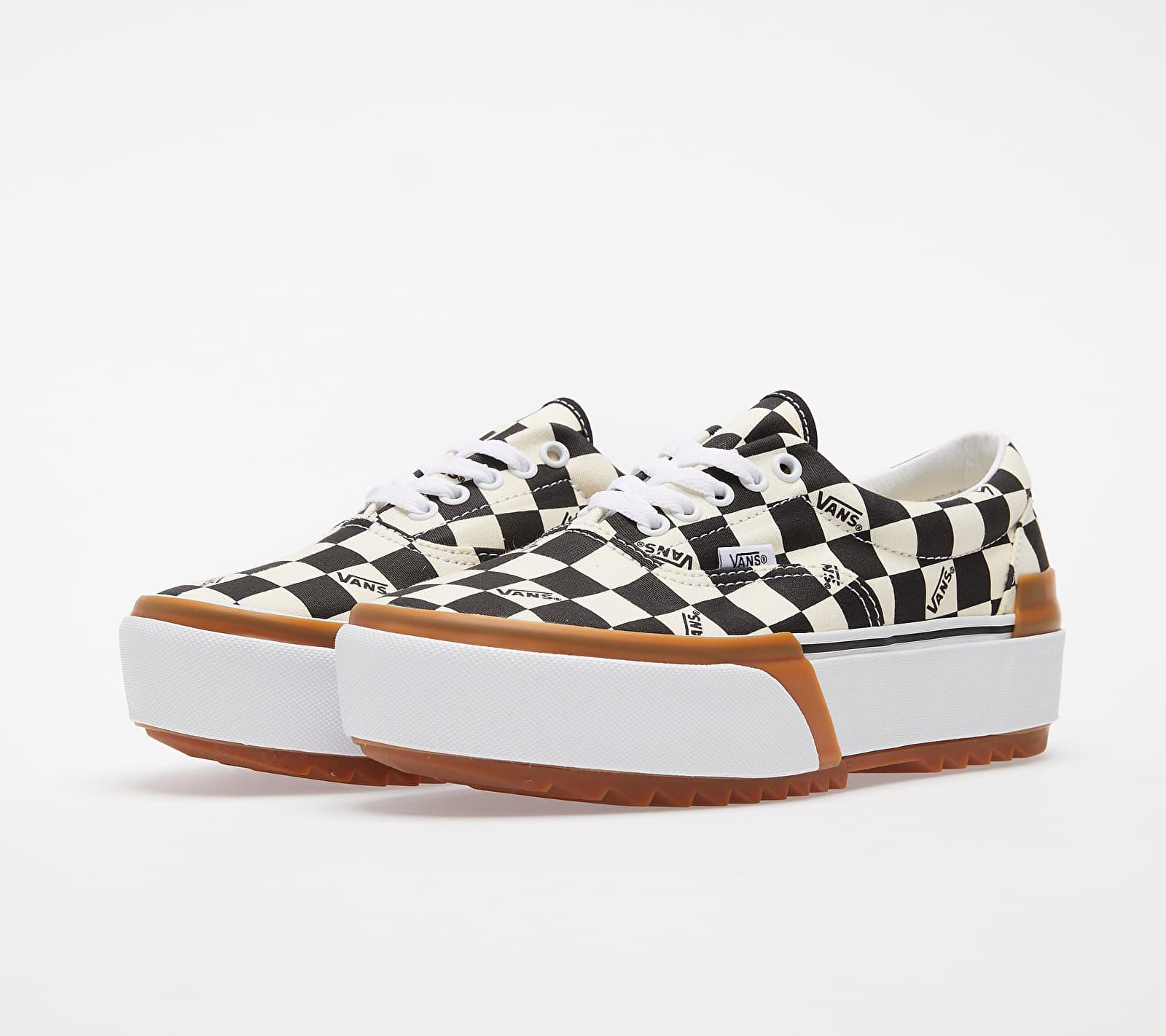 Vans Era Stacked (Checkerboard) Multi/ True White, Multicolour