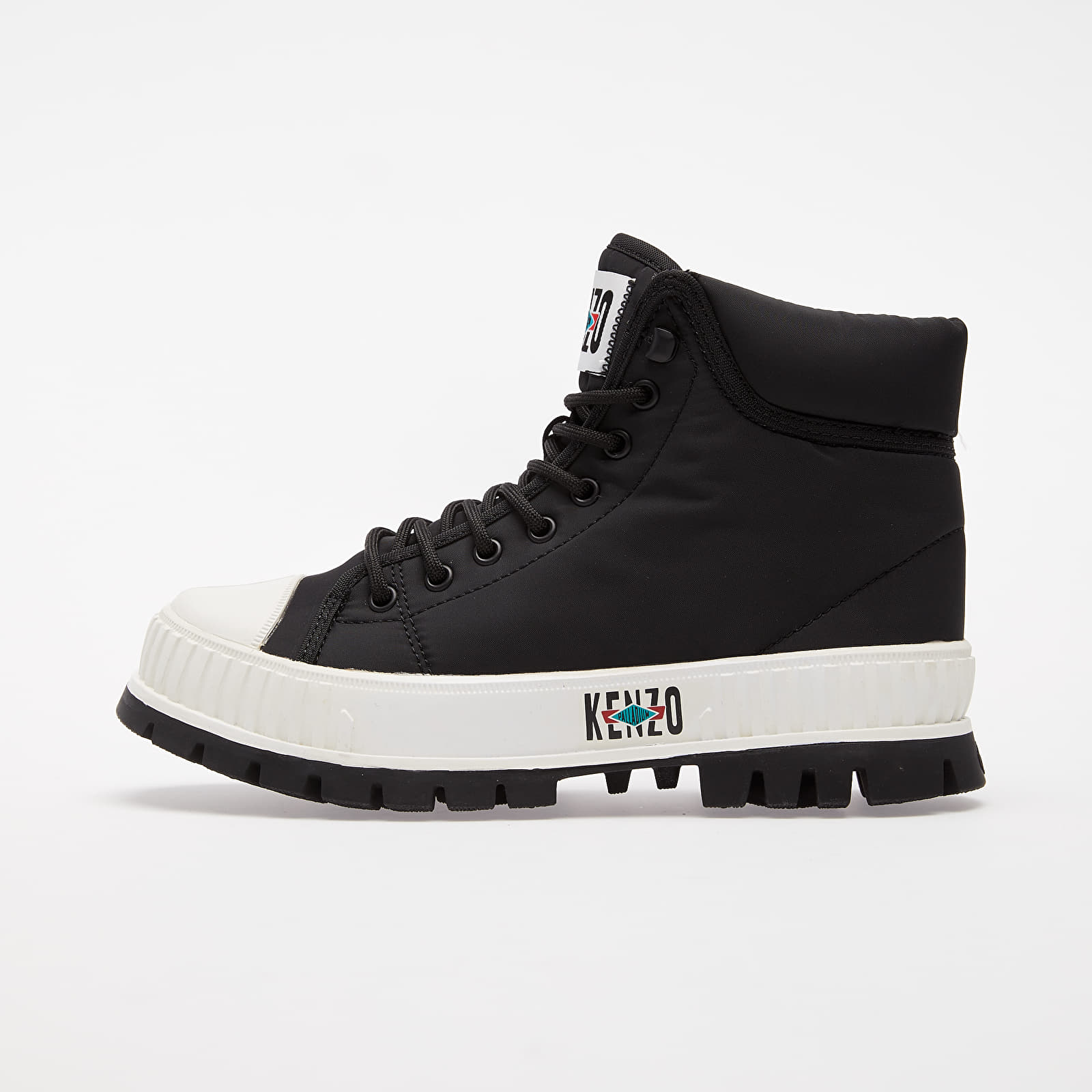 Women's shoes KENZO x Palladium High top Sneaker Black
