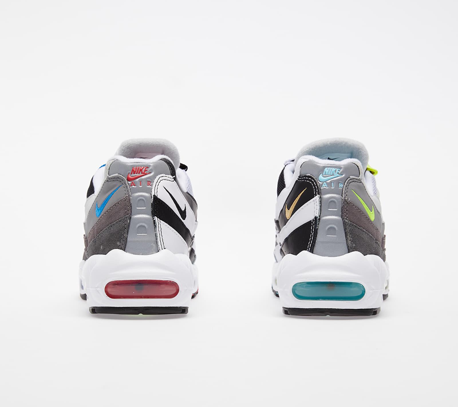 Nike Air Max 95 QS Black/ Multi-Color-Gunsmoke-Iron Grey