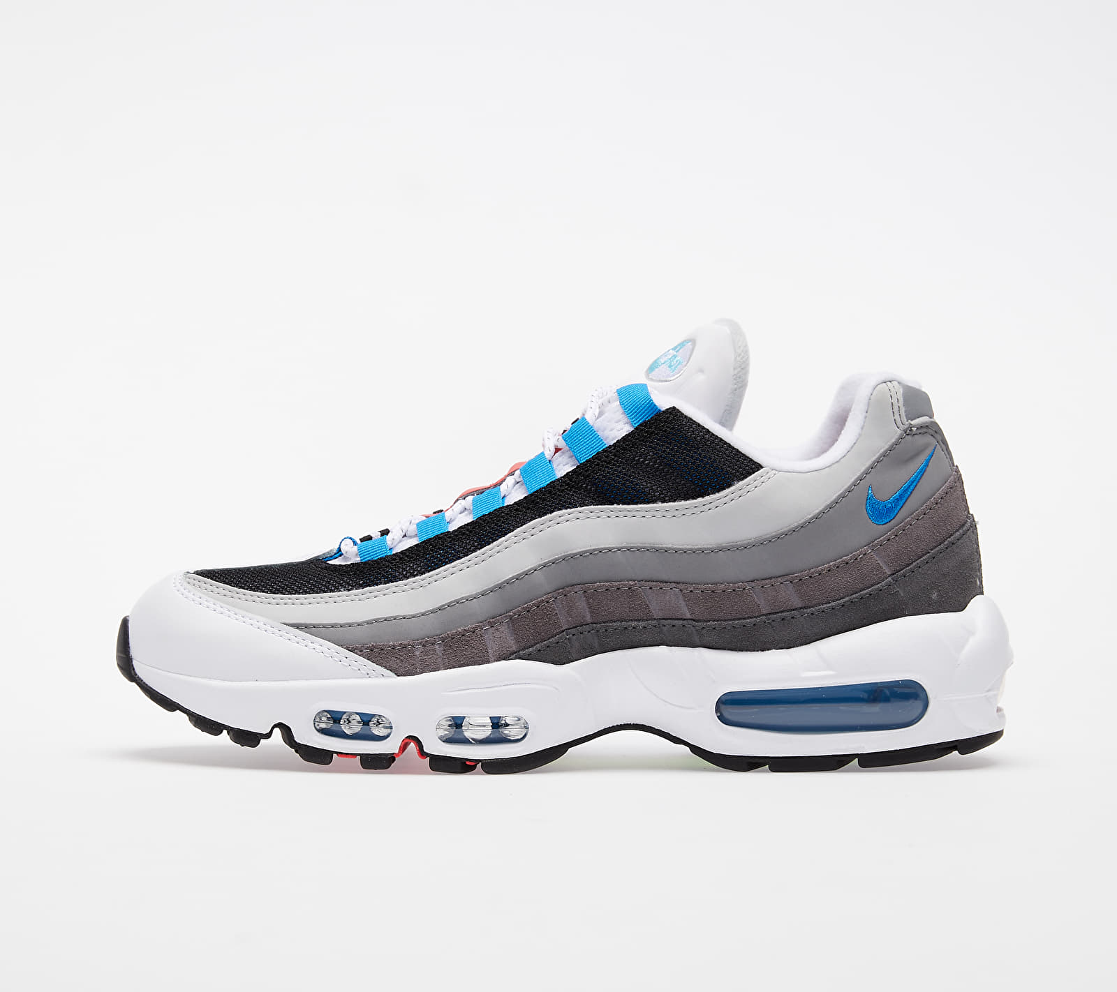 Nike Air Max 95 QS Black/ Multi-Color-Gunsmoke-Iron Grey EUR 41