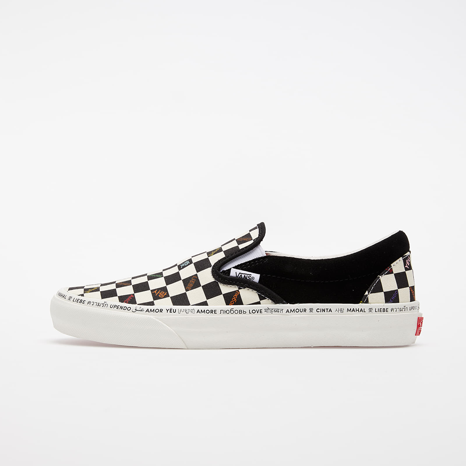 Men's shoes Vans Classic Slip-On V (Love) Multi/ Marshmallow