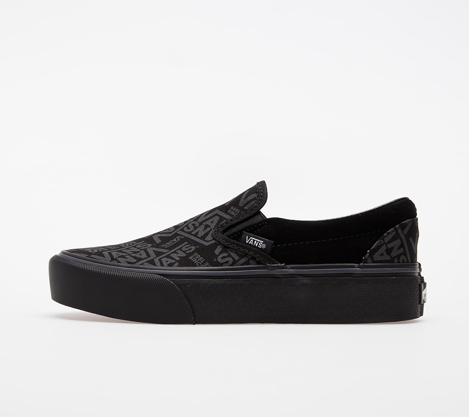 Vans Classic Slip-On Platform (Vans 66) Black EUR 37