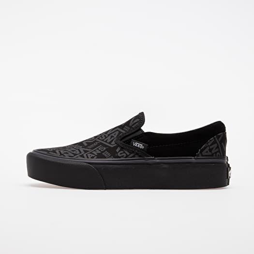 Milímetro Manchuria Capilares  Men's shoes Vans Classic Slip-On Platform (Vans 66) Black | Footshop