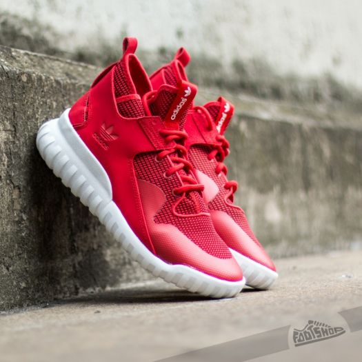 uk availability f31f0 270ef adidas Tubular X Collegiate Red/White | Footshop