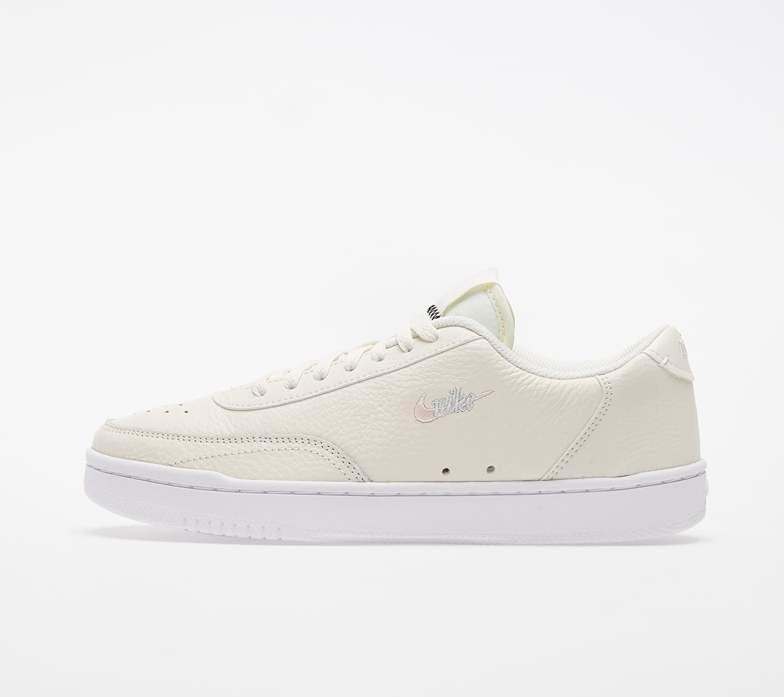 Nike Wmns Court Vintage Premium Pale Ivory/ Washed Coral-Aura 1