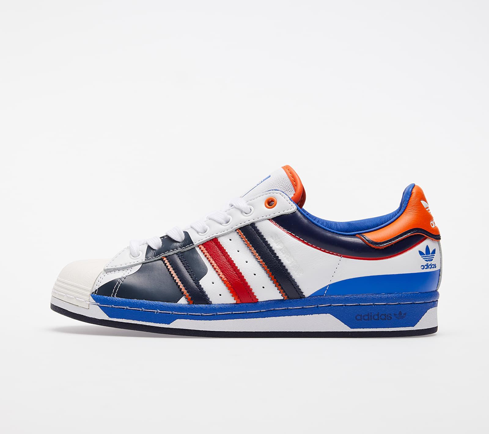 adidas Superstar Ftwr White/ Blue/ Scarlet EUR 42