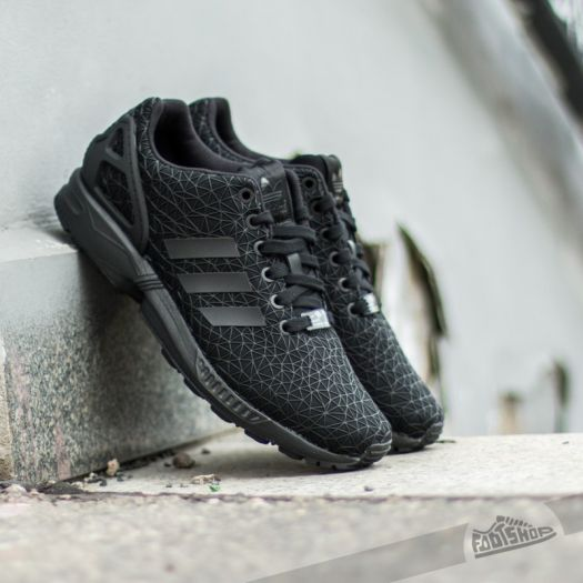 super popular 6890c 07355 adidas ZX Flux W Core Black/Black/Black | Footshop