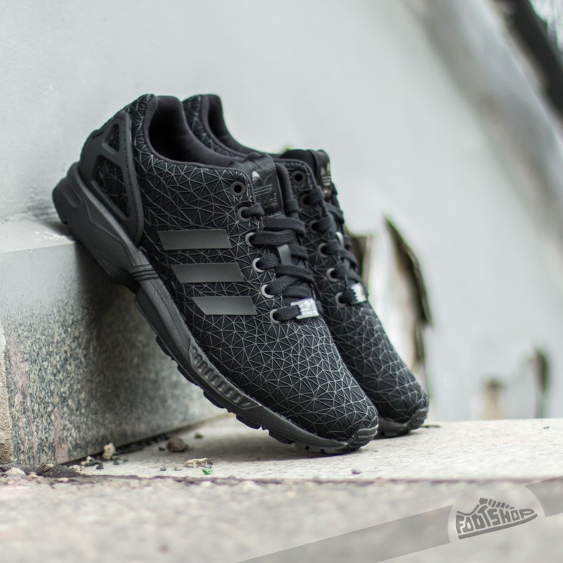 adidas ZX Flux W Core BlackBlackBlack | Footshop