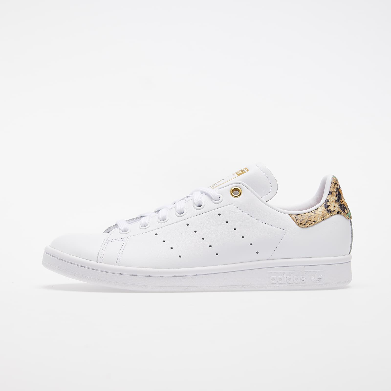 Women's shoes adidas Stan Smith W Ftw White/ Scarlet/ Gold Metalic