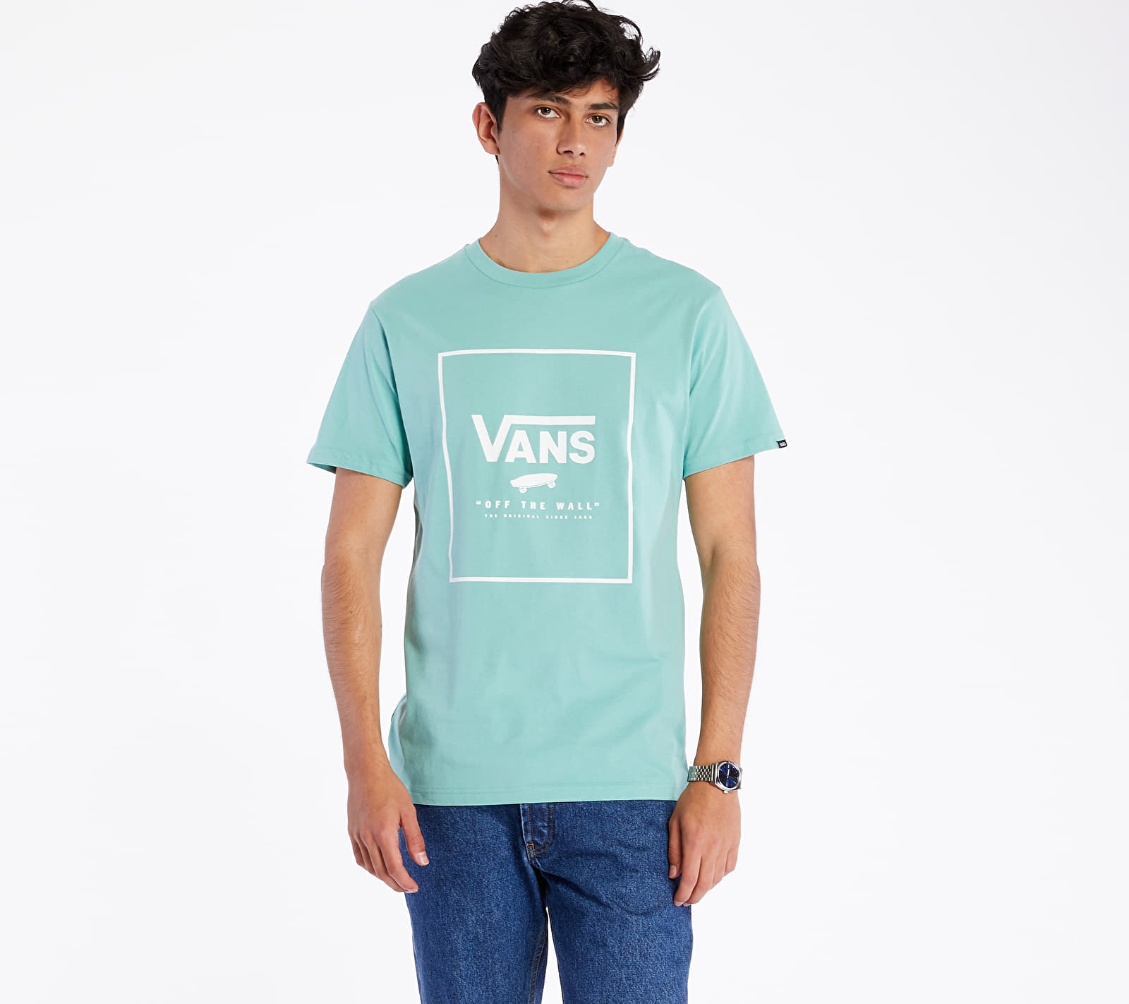 Vans Print Tee Canton/ White