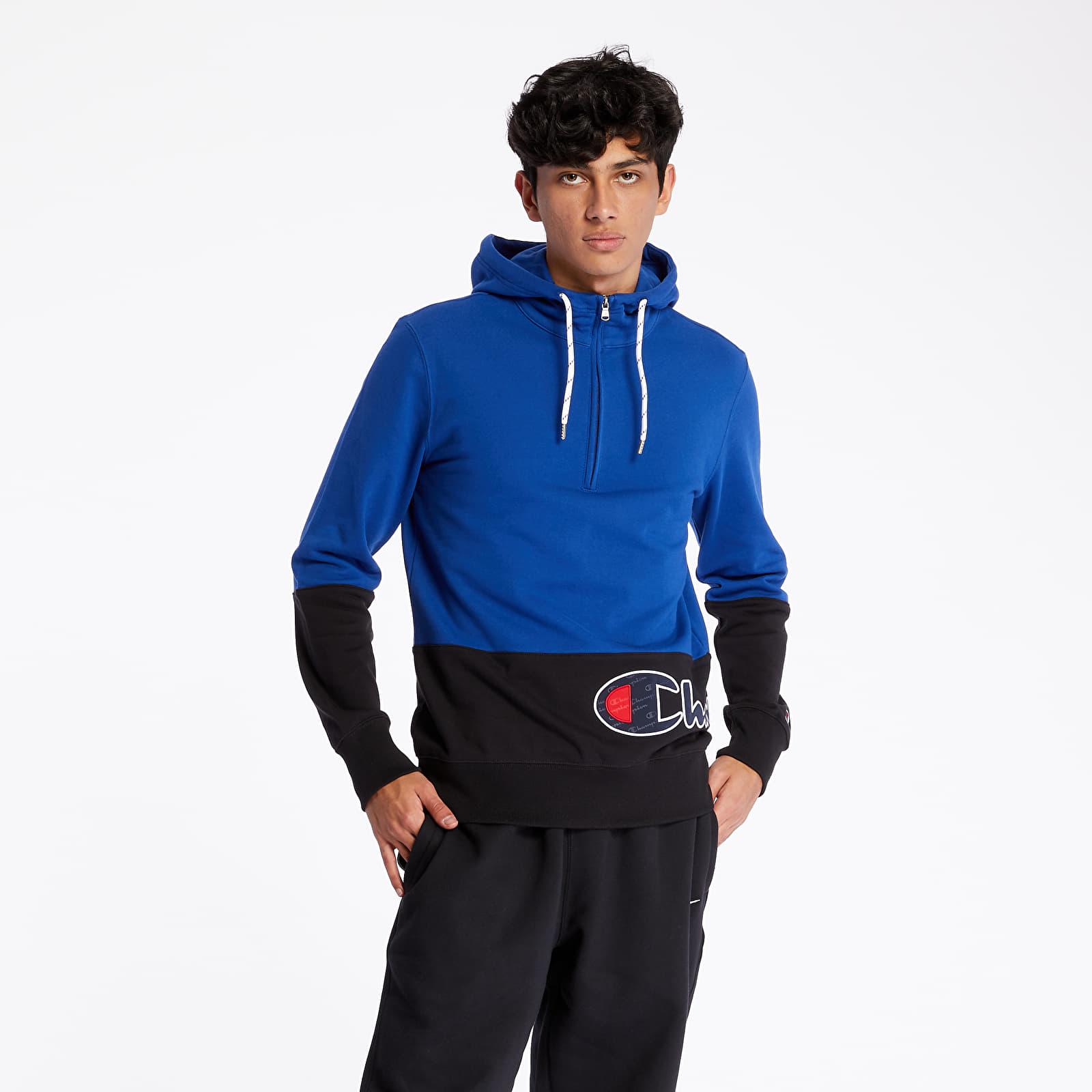 Sweatshirts Champion Hoodie Black/ Blue