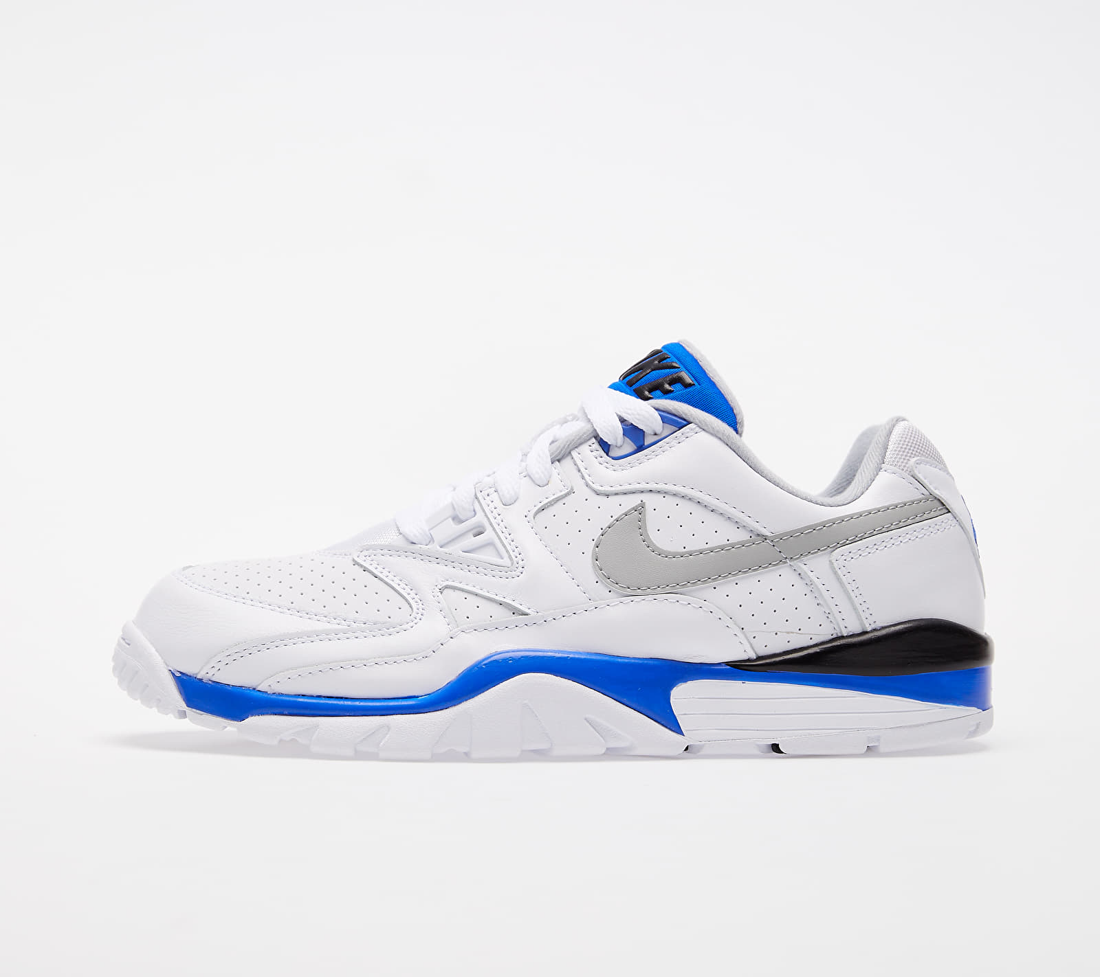 Nike Air Cross Trainer 3 Low White/ Lt Smoke Grey-Racer Blue-Black EUR 45.5