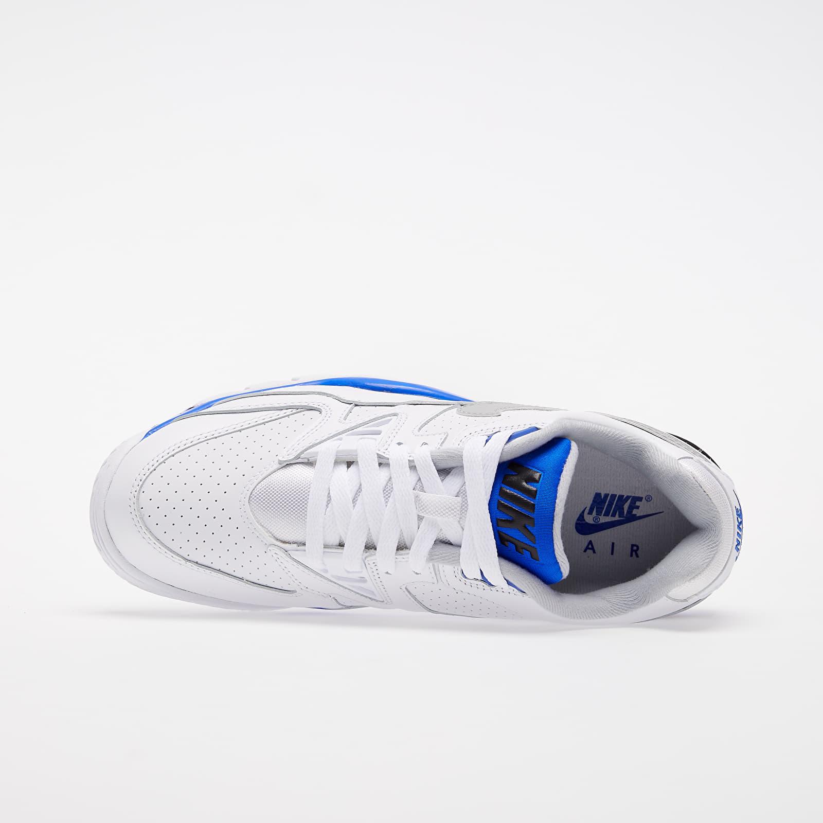 Nike Air Cross Trainer 3 Low White Lt Smoke Grey Racer Blue Black | Footshop