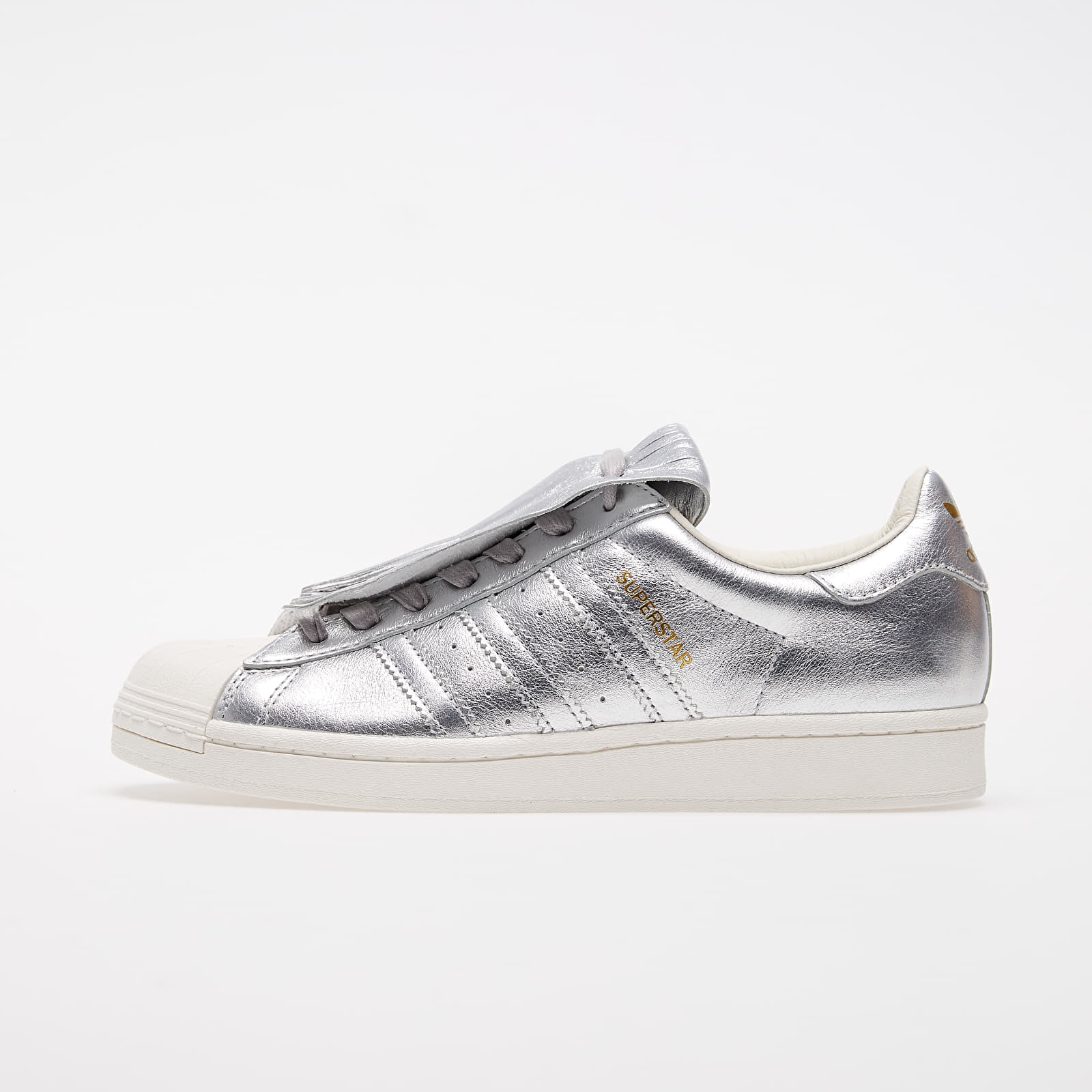 Дамски кецове и обувки adidas Superstar FR W Silver Met./ Silver Met./ Chalk White