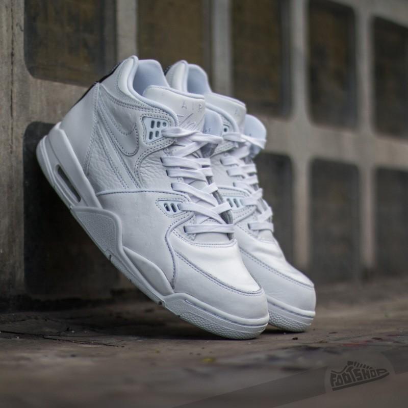 traducir Naturaleza volumen  Men's shoes Nike Air Flight 89 LE QS White/ White-White