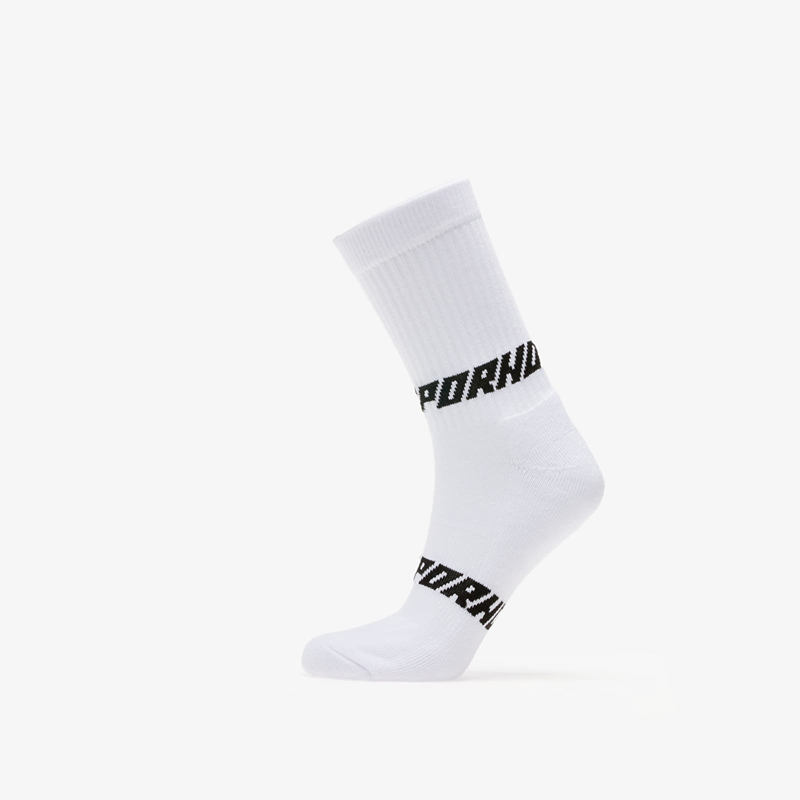 Socks LIFE IS PORNO Rider Sox White/ Black