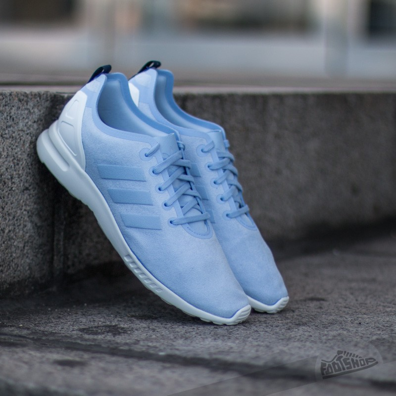 bccbe697d53a0 adidas ZX Flux Smooth W Periwinkle  Periwinkle  Night Indigo ...
