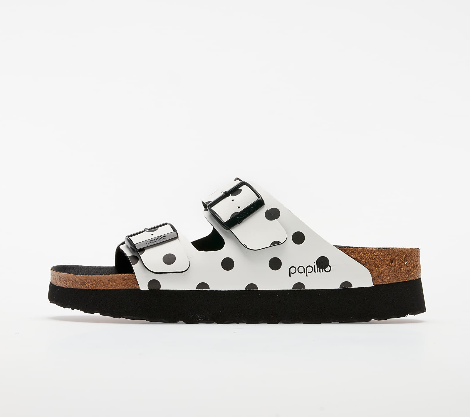 Birkenstock Arizona Pap White/ Black Dots 1