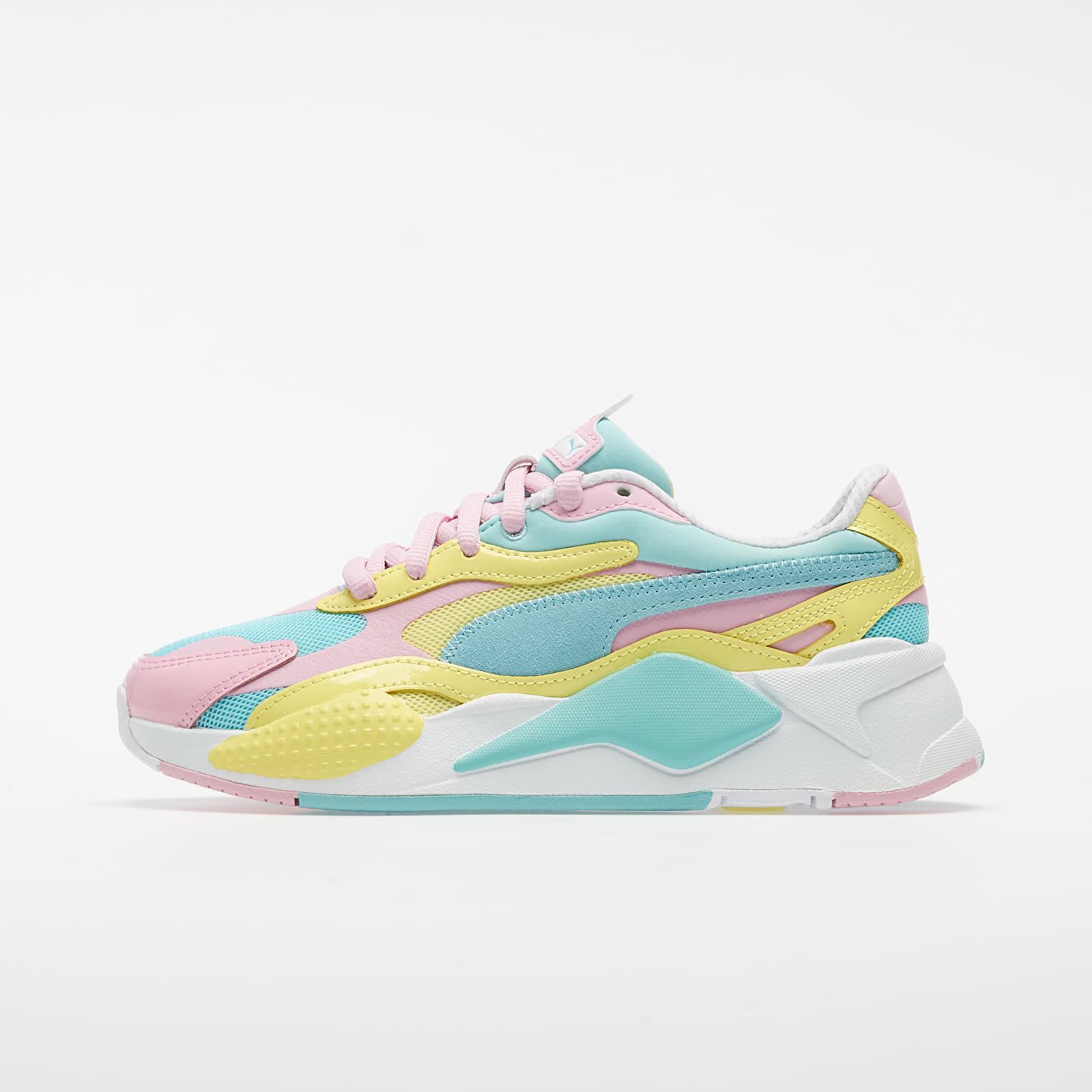 Pánské tenisky a boty Puma RS-X³ Plastic Gulf Stream-Sunny Lime