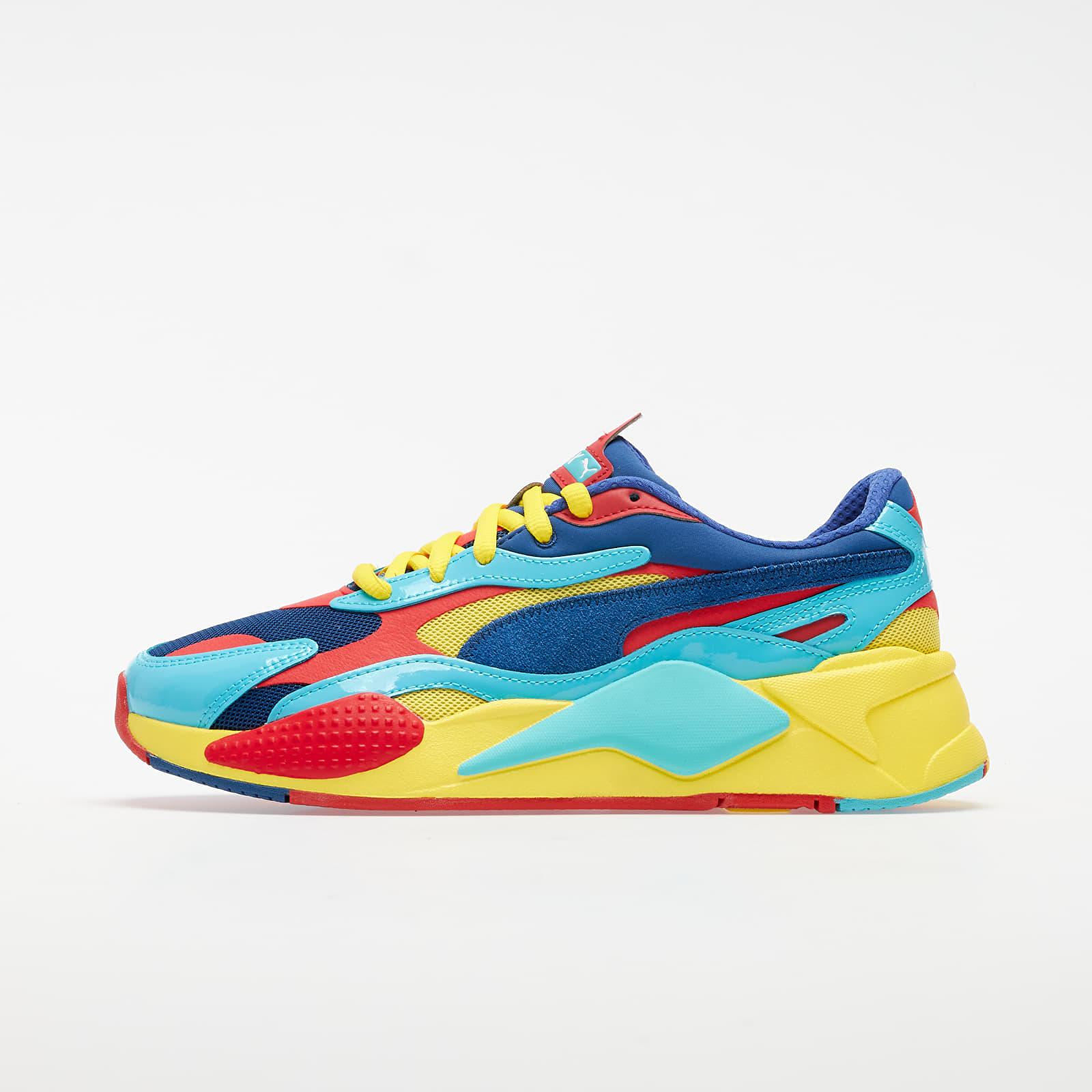 Pánské tenisky a boty Puma RS-X³ Plastic Limoges-High Risk Red