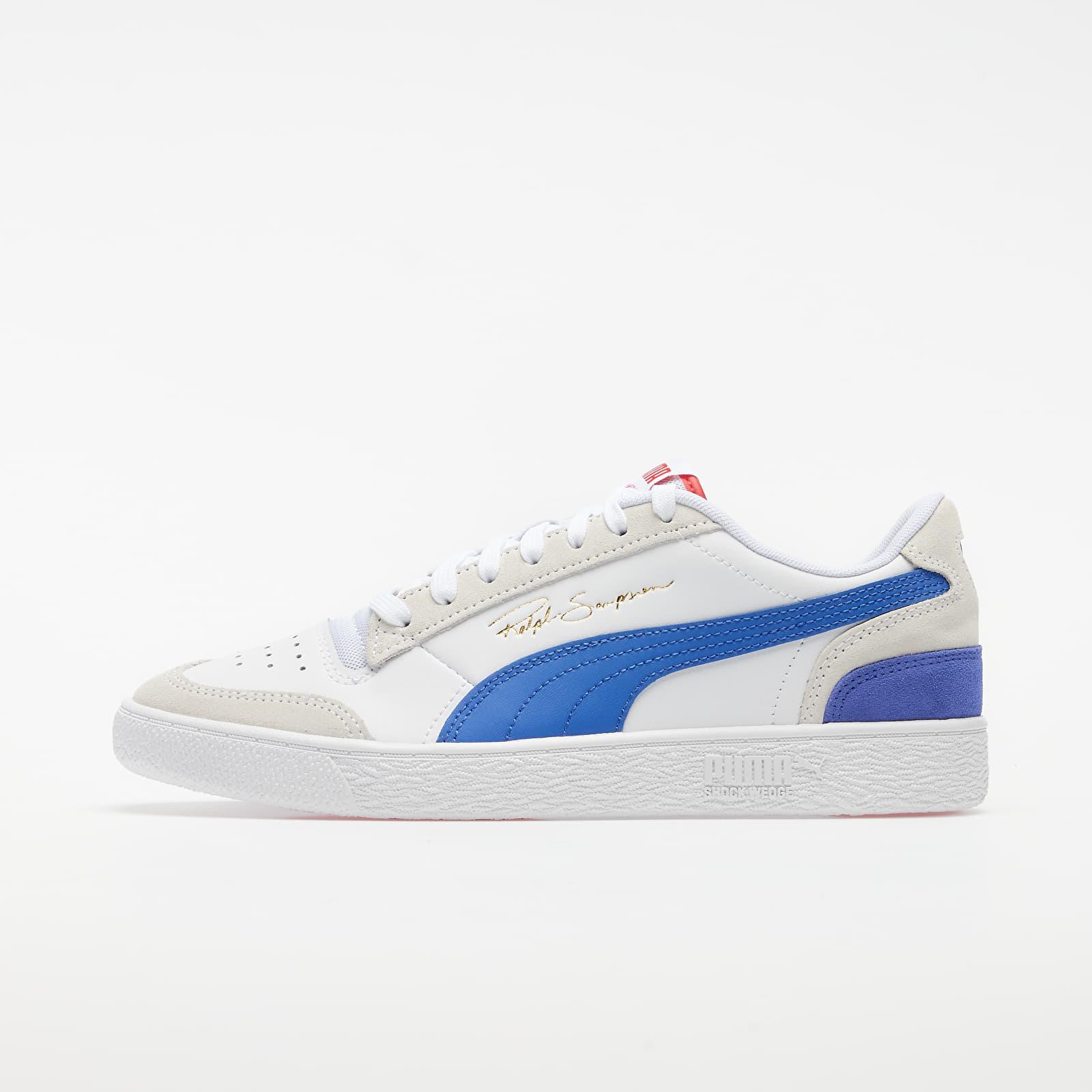 Pánské tenisky a boty Puma Ralph Sampson Lo Vintage Puma White-Dazzling Blue