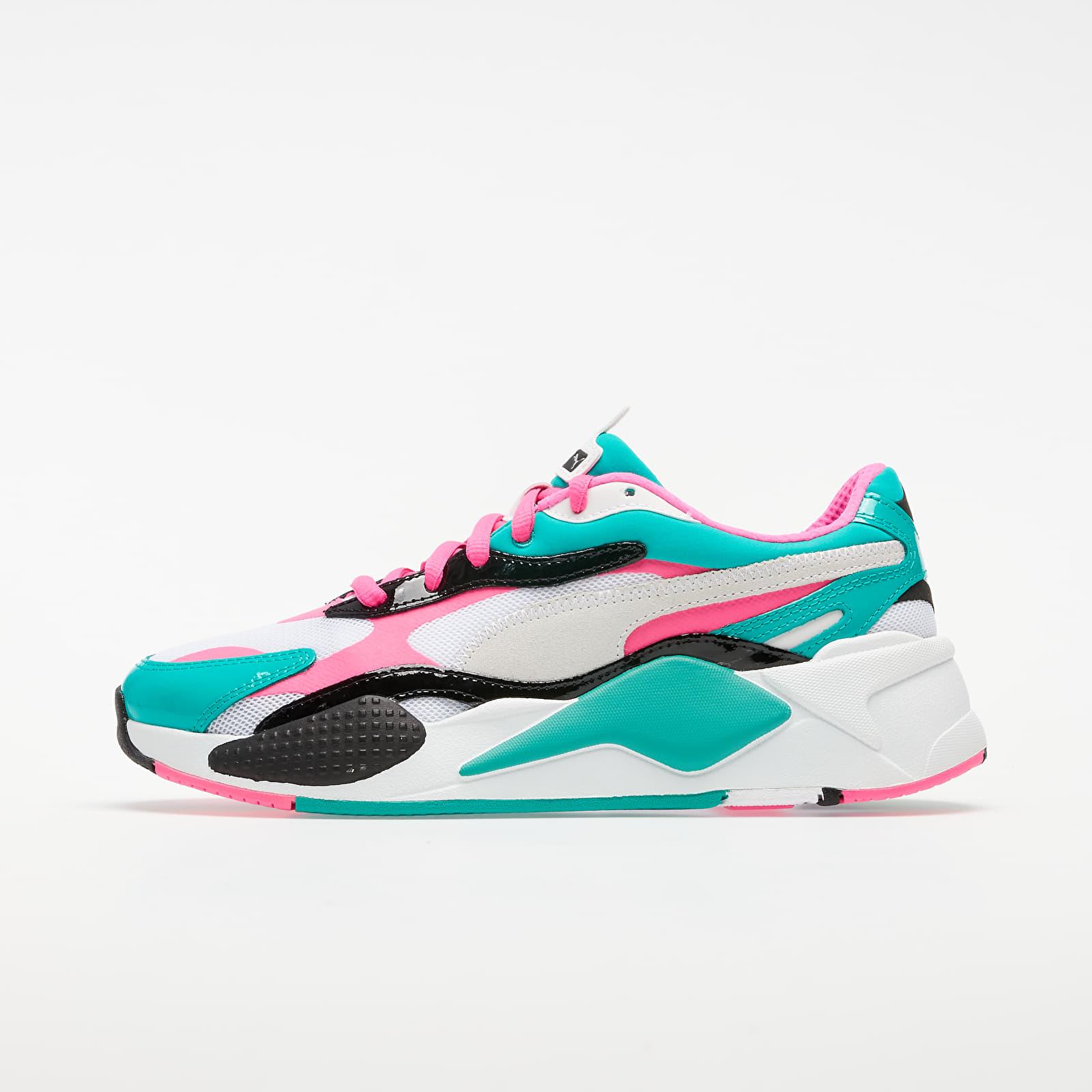 Pánské tenisky a boty Puma RS-X³ Plastic Puma White-Fluo Pink