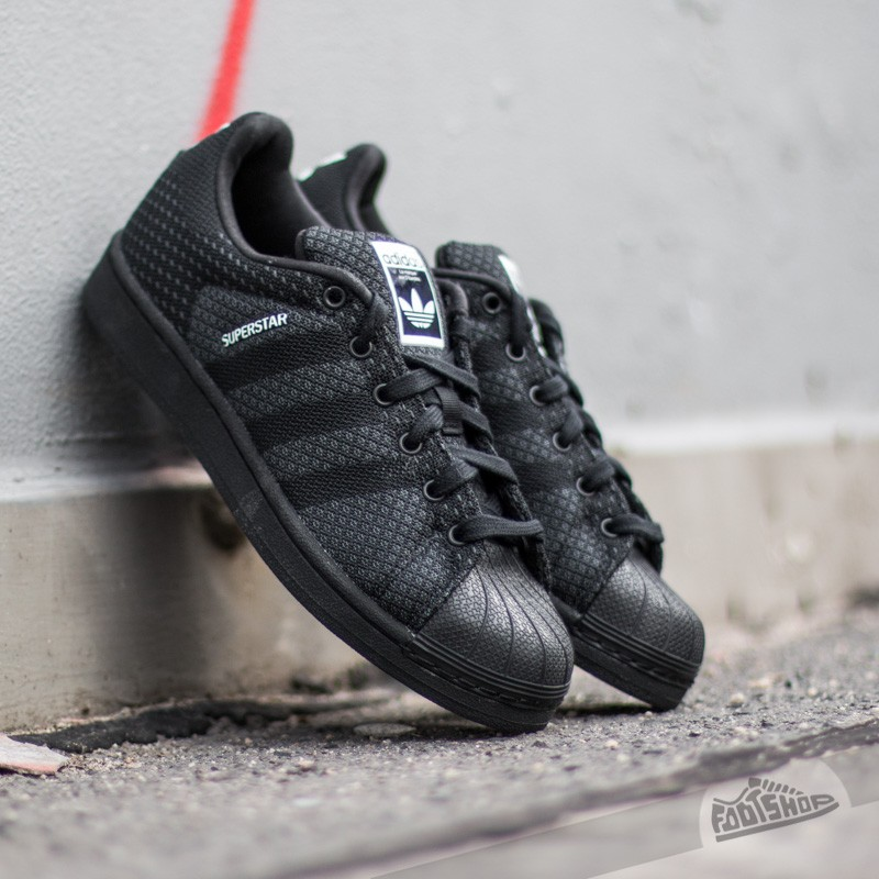 adidas Superstar Weave Pack Core Black/Black/White | Footshop