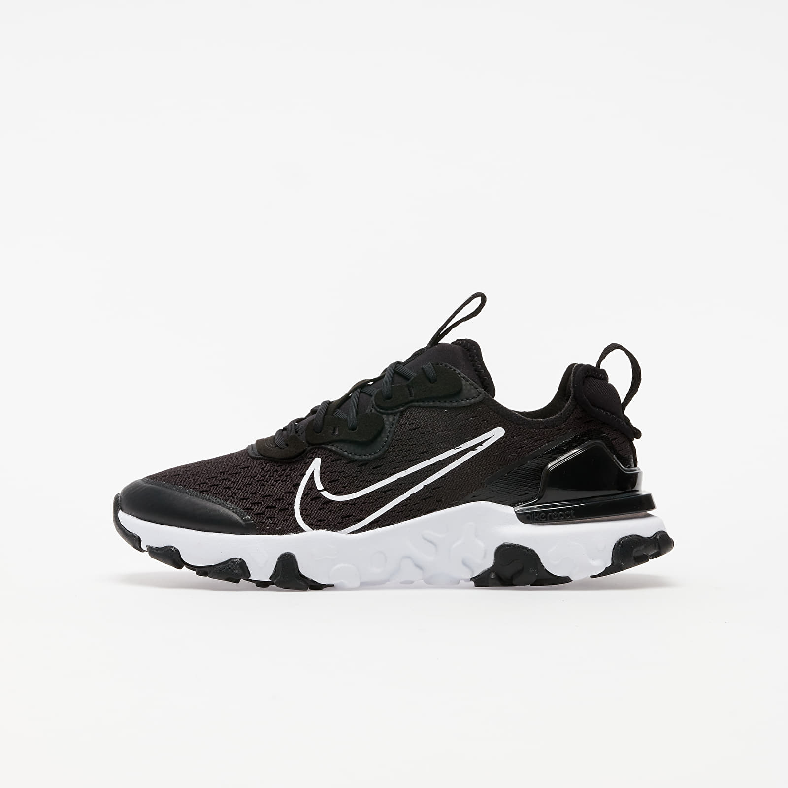 Încălțăminte copii Nike React Vision (GS) Black/ White-Black