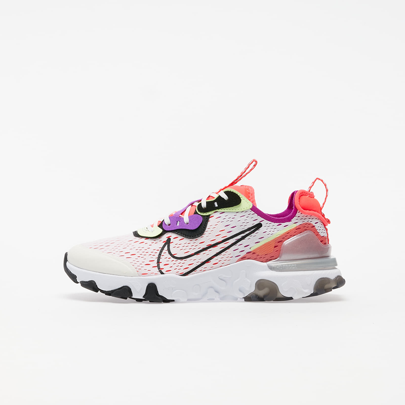 Încălțăminte copii Nike React Vision (GS) Summit White/ Black-Barely Volt