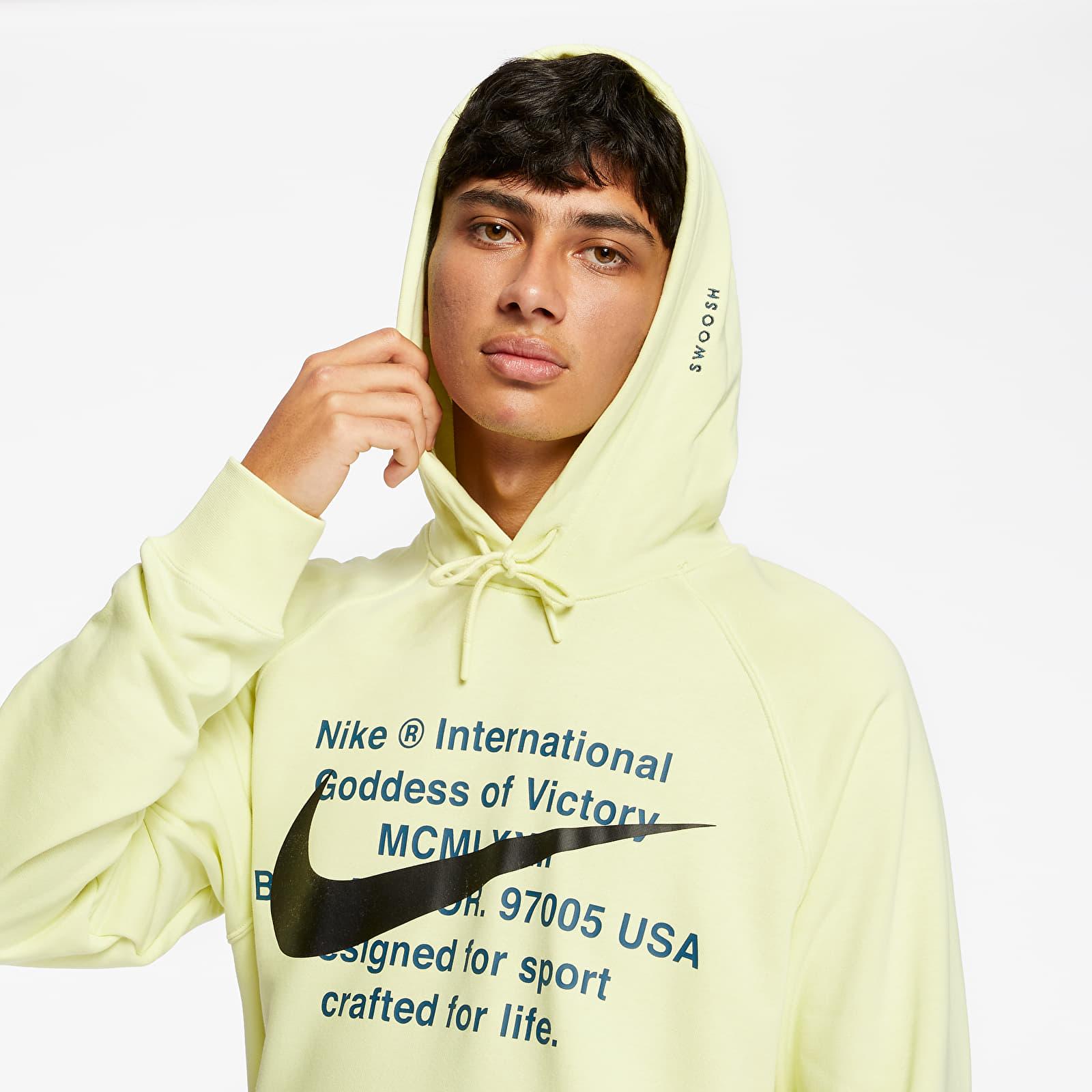 Sweatshirts Nike Sportswear Swoosh Hoodie Luminous Green