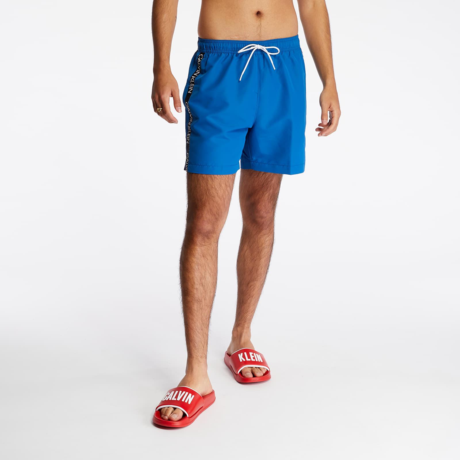 Swimsuit Calvin Klein Medium Drawstring Swim Shorts Snorkel Blue