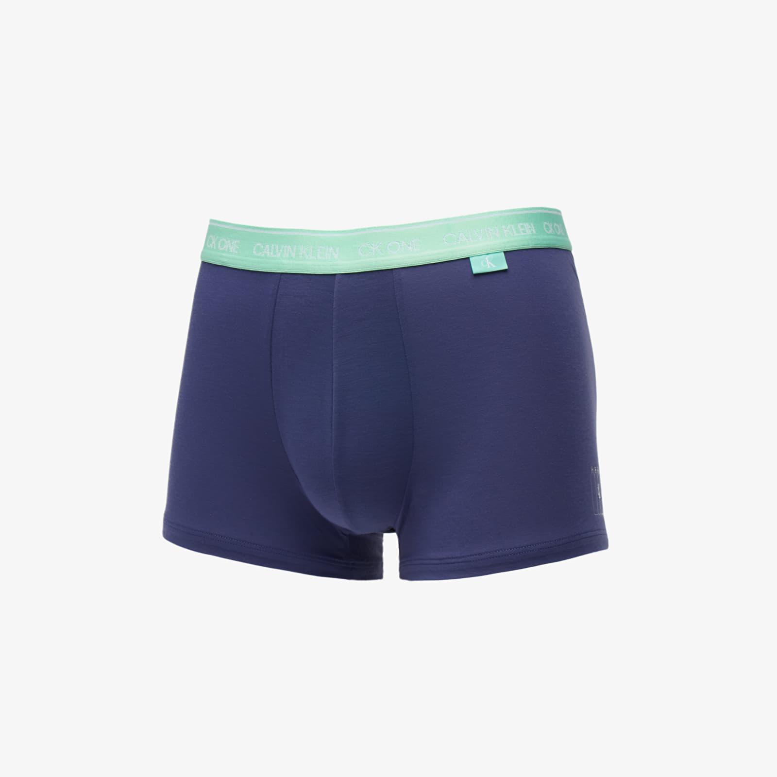Boxer shorts Calvin Klein Trunks Blue Whale