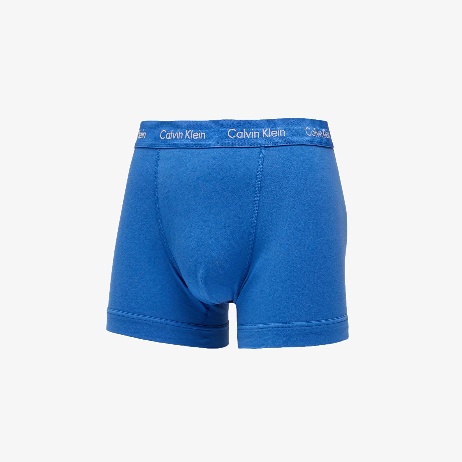 Men's underwear Calvin Klein 3 Pack Trunks Minnow/ Horoscope/ Inferno