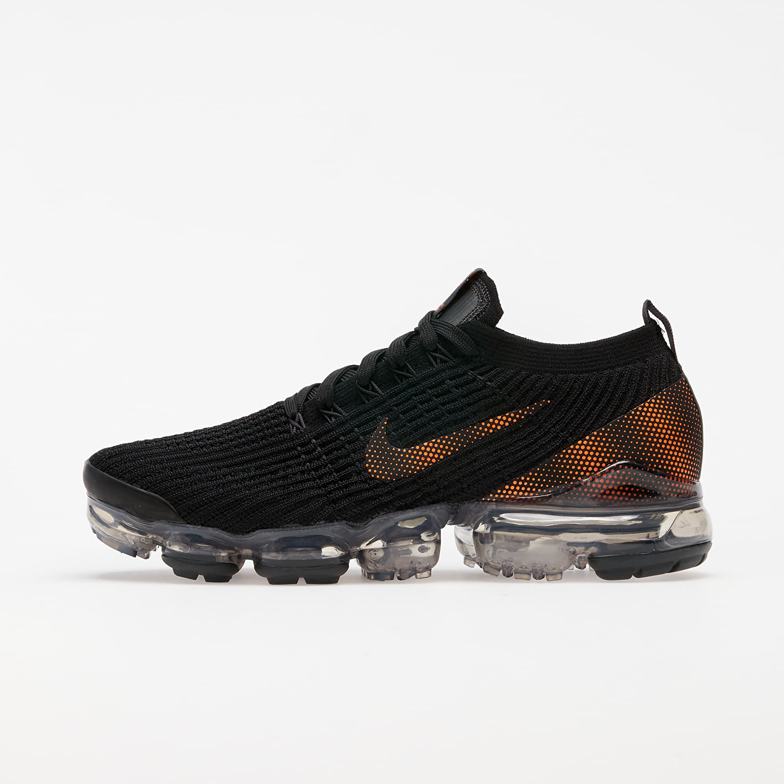 Pánské tenisky a boty Nike Air Vapormax Flyknit 3 Black/ Total Orange-Dk Smoke Grey