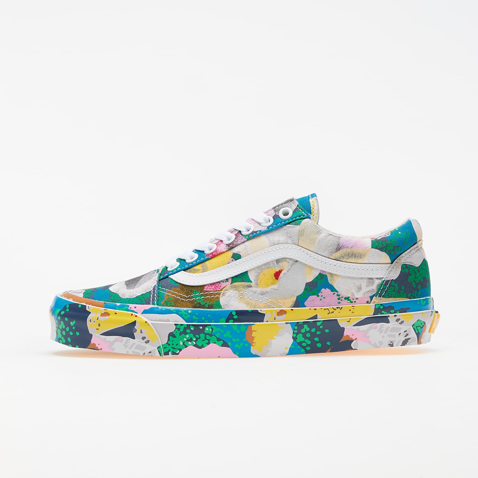 Încălțăminte și sneakerși pentru bărbați KENZO x Vans OG Old Skool LX Floral Yellow/ True White
