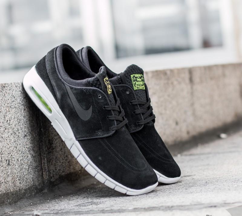 e68c101693 Nike Stefan Janoski Max L Black/ Black-Cyber-White | Footshop