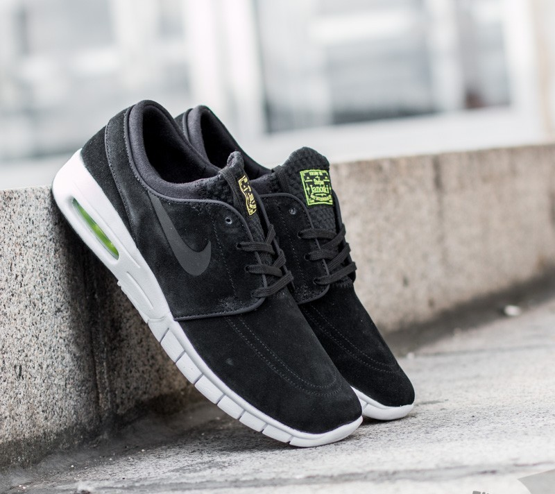 finest selection 799ab 4479b Nike Stefan Janoski Max L Black  Black-Cyber-White