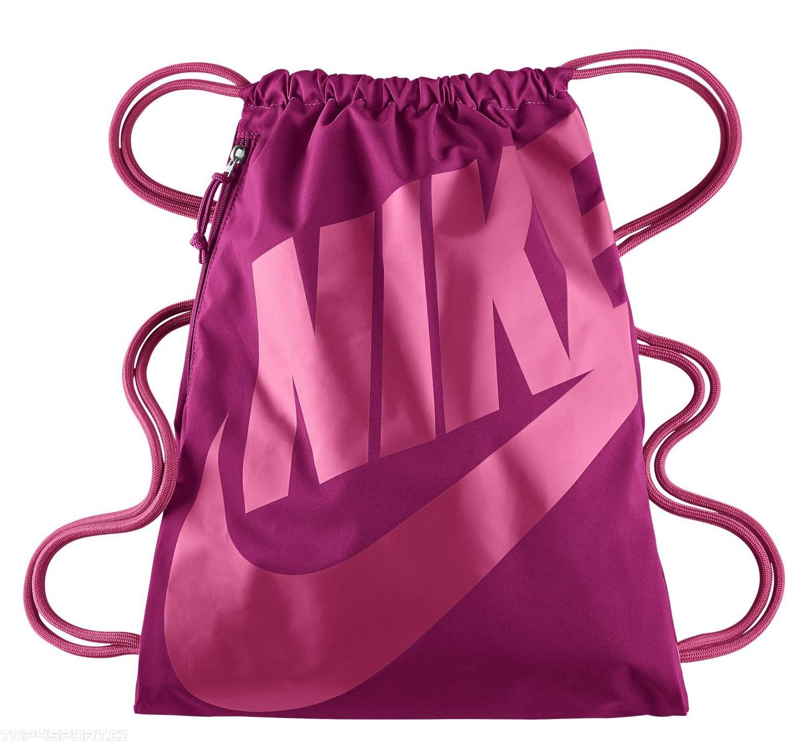 new product 6b394 11399 Nike Heritage Gymsack Fuchsia Pink