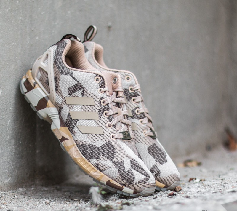 new concept e05a1 b27f1 adidas ZX Flux Clear Brown  Brown  Hemp